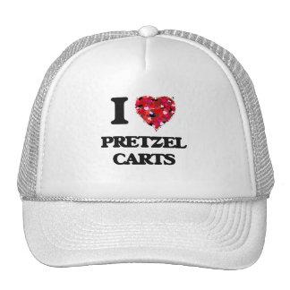 I love Pretzel Carts Cap
