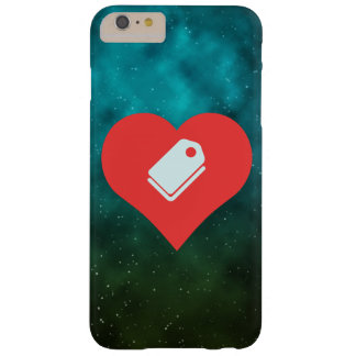 I Love Price Tags Barely There iPhone 6 Plus Case