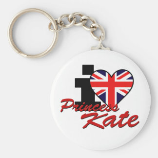I Love Princess Kate Key Ring