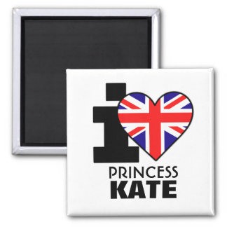 I Love Princess Kate Magnet