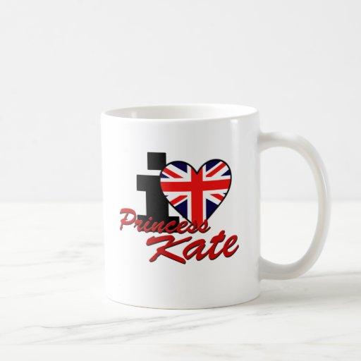 I Love Princess Kate Mug