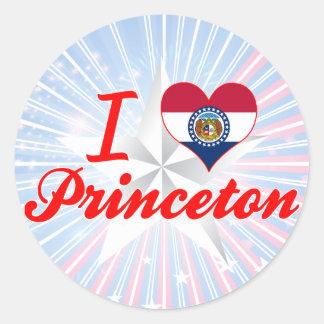 I Love Princeton, Missouri Sticker