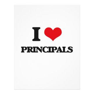 I Love Principals 21.5 Cm X 28 Cm Flyer