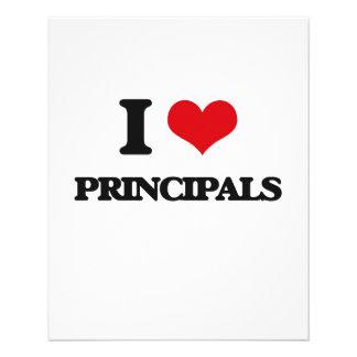 I Love Principals 11.5 Cm X 14 Cm Flyer