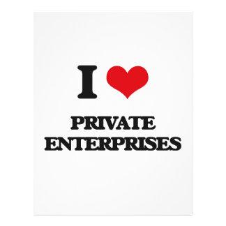 I Love Private Enterprises Custom Flyer