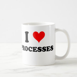 I Love Processes Classic White Coffee Mug