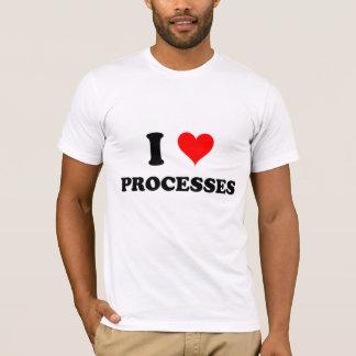 I Love Processes T-Shirt