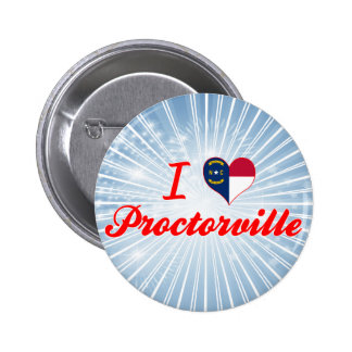I Love Proctorville, North Carolina Pin