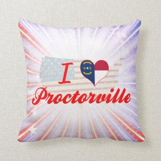 I Love Proctorville, North Carolina Pillows