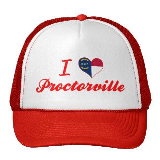 I Love Proctorville, North Carolina Mesh Hats