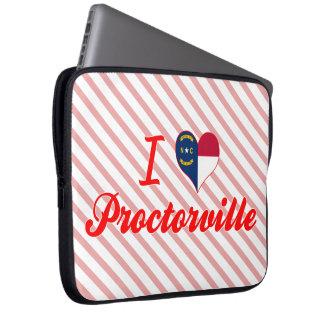 I Love Proctorville North Carolina Laptop Computer Sleeves