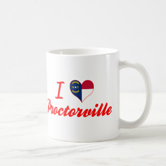 I Love Proctorville, North Carolina Basic White Mug