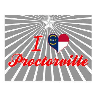 I Love Proctorville, North Carolina Postcards