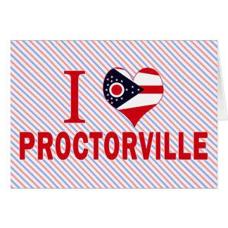 I love Proctorville, Ohio Card