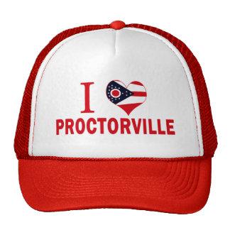 I love Proctorville, Ohio Hats