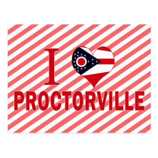 I love Proctorville, Ohio Post Card