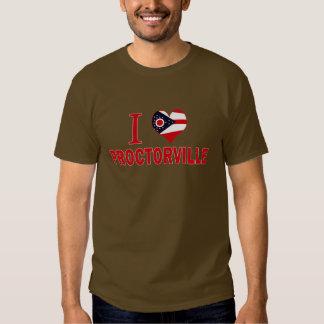 I love Proctorville, Ohio T Shirts