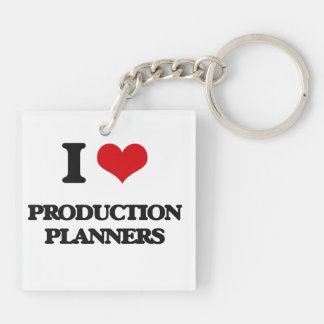I love Production Planners Key Chains