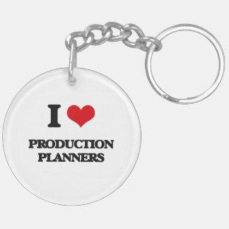 I love Production Planners Acrylic Key Chain