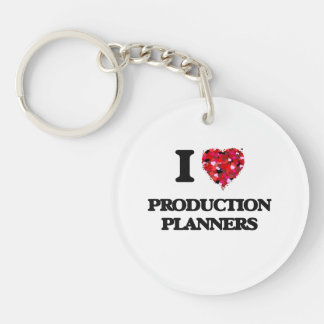 I love Production Planners Single-Sided Round Acrylic Key Ring
