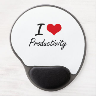 I Love Productivity Gel Mouse Pad