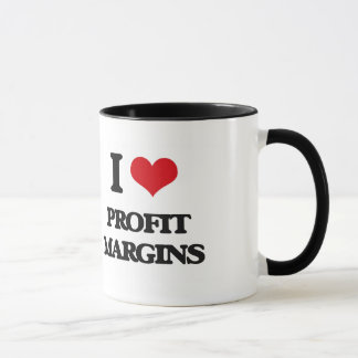 I Love Profit Margins Mug