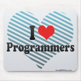I Love Programmers Mousepad
