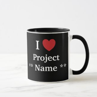 I Love Project ? / Loves Me Personalisable Team