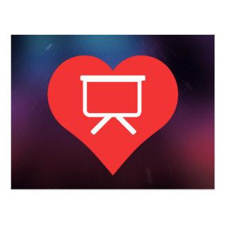 I Love Projector Screens Design Postcard