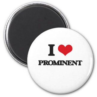 I Love Prominent Refrigerator Magnet