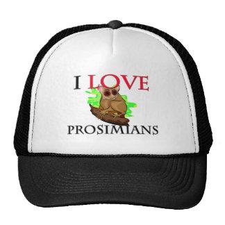 I Love Prosimians Hat