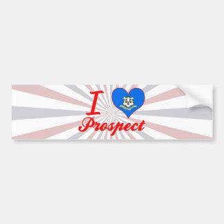 I Love Prospect, Connecticut Bumper Stickers