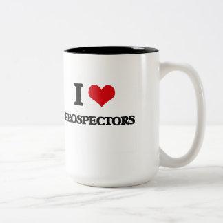 I Love Prospectors Two-Tone Mug