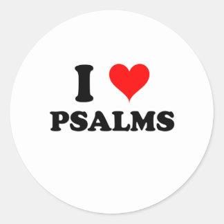 I Love Psalms Sticker