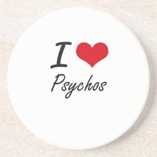 I Love Psychos Coasters