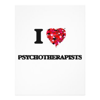I love Psychotherapists 21.5 Cm X 28 Cm Flyer