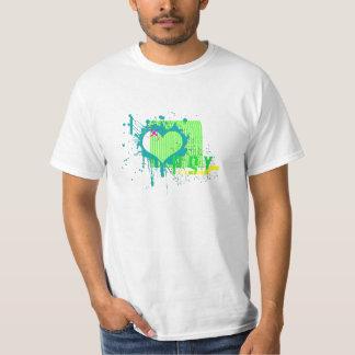 i love psytrance t shirt