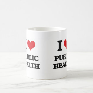 I Love Public Health Coffee Mug