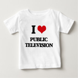 I Love Public Television T-shirt