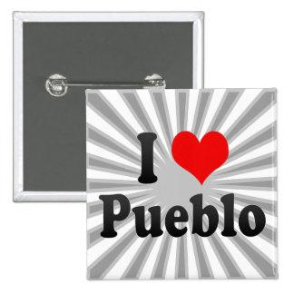 I Love Pueblo, United States Pins