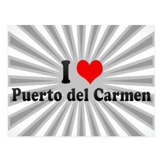 I Love Puerto del Carmen, Spain Postcard