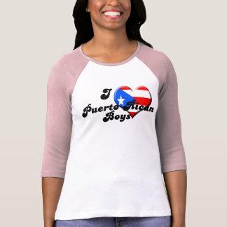 i love puerto rican boys copy t shirt
