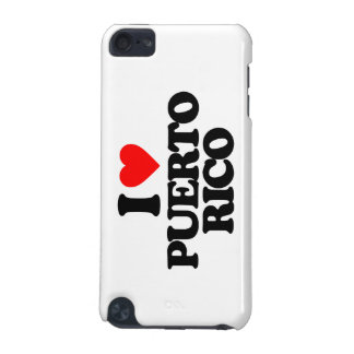 I LOVE PUERTO RICO iPod TOUCH (5TH GENERATION) COVERS