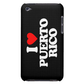 I LOVE PUERTO RICO BARELY THERE iPod CASES