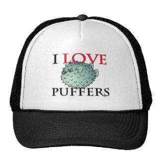 I Love Puffers Hats