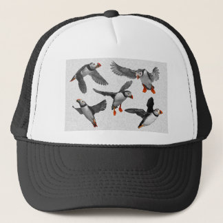 I Love Puffins! Trucker Hat