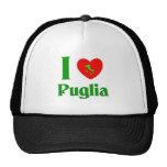 I Love Puglia Italy Hat
