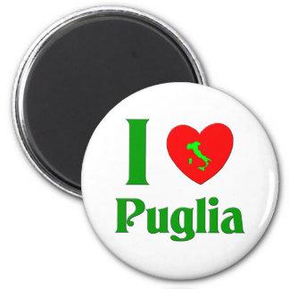 I Love Puglia Italy Fridge Magnet