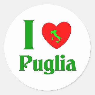 I Love Puglia Italy Sticker