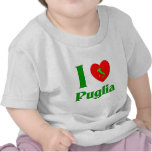I Love Puglia Italy T-shirt